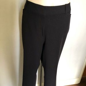 Navy Blue Curvy Fit Perfect Trouser